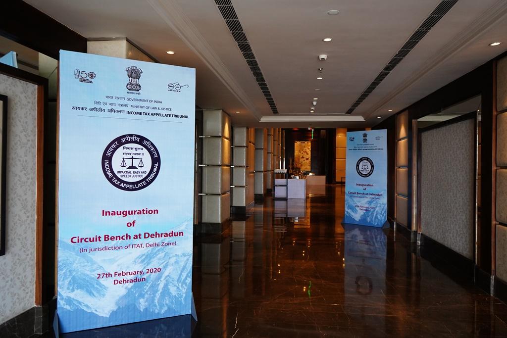 ITAT inaugurates its Second Circuit Bench at Dehradun on 27.02.2020.