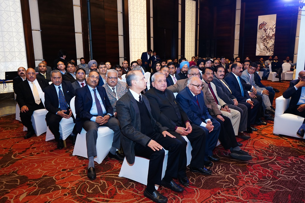 Gathering of distinguished guests, members of the Bar, Officers of Income Tax Department, BSNL, NIC, etc. on the occasion.