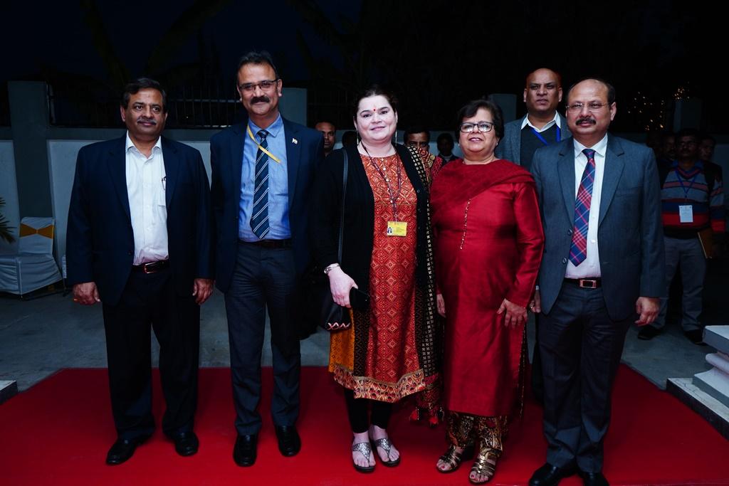 Ms. Sushma Chowla, Hon'ble Vice President (HZ), Shri Sudhanshu Srivastava, Hon'ble JM and Shri Prashant Maharshi, Hon'ble AM with officers of Department of Legal Affairs